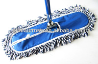 HQ6011 Chinese factory wholesale 60cm dry and wet dust mop cotton flat mop