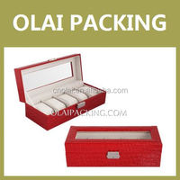 new designed famous brand watch packing box wholesale