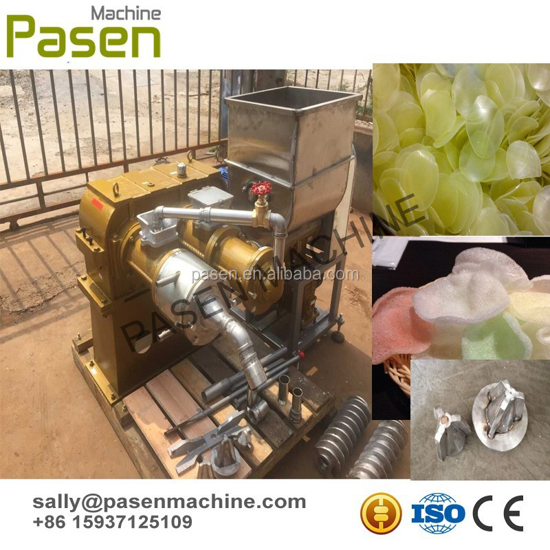 automatic prawn rice cracker forming machine / automatic prawn cracker production line