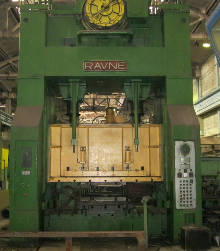 Double crankshaft mechanical press DE 315