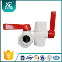 "PP/ABS Butterfly Handle for Agriculture of Octagonal PVC 1/2"" Ball Valve"