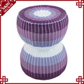 S&D Decorative waterproof stackable plastic garden stool