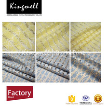 Best selling custom digital printed lace polyester fabric from China textile supplier