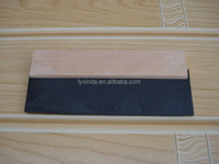 wooden handle rubber scraper for sale