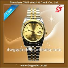Lastest luxury men watch studded real diamond on dial
