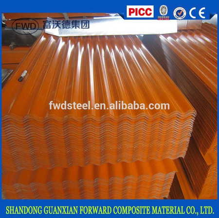 prepainted corrugate galvanize/galvalume steel sheet plate color coated profile sheet manufacturer for roofing