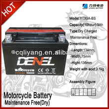 High quality Sealed lead acid / AGM /VRLA battery 12V 7AH