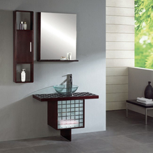 Small Bathroom Vanity with Towel Rack Model