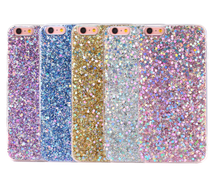 Wholesale Phone Case For iPhone 7 Case TPU, For iPhone 7 Diamond Flash Bling Glitter Powder TPU Phone Cases