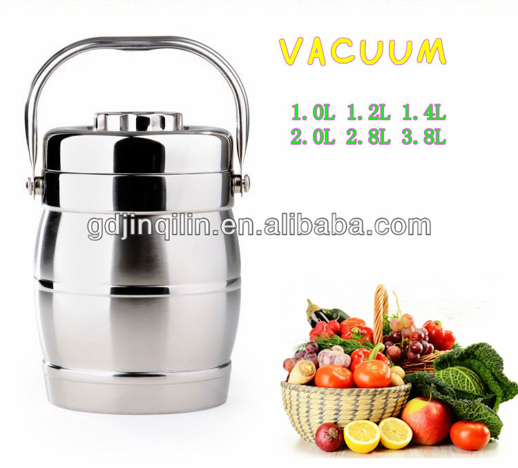 new storage vacuum food container insulation materials for lunch box with wholesale price