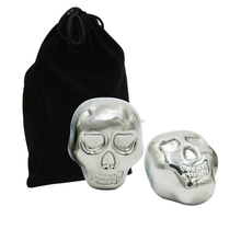 Preserve the flavor of drinks Chilling skull head stainless