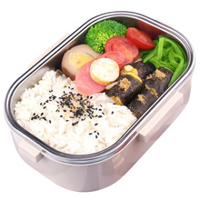 Stainless Steel+ PP Box Hot Water Heating Lunch Box Containers