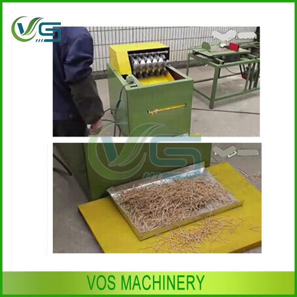 Simple and safe to use automatic bamboo toothpick making machine on sale