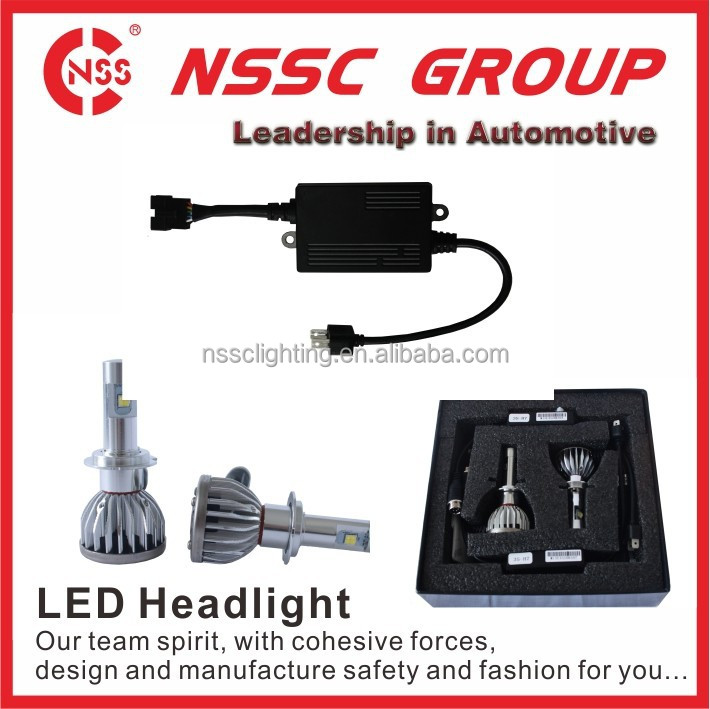 high power H4 all in one for mazda 323 led headlight kit