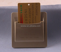 Top selling Hotel room insert key for power switch