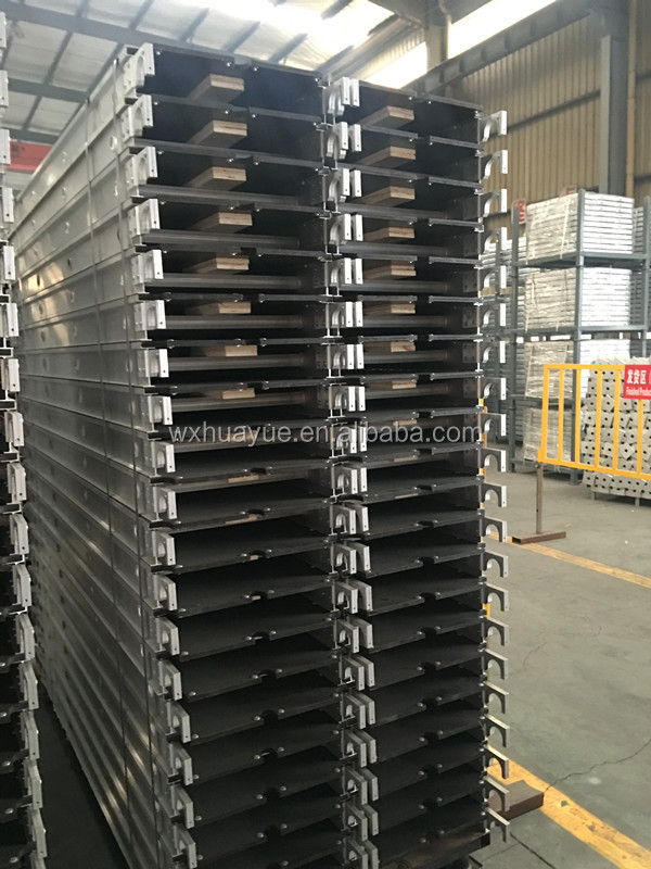 high quality mobile Aluminum board with Plywood scaffolding type