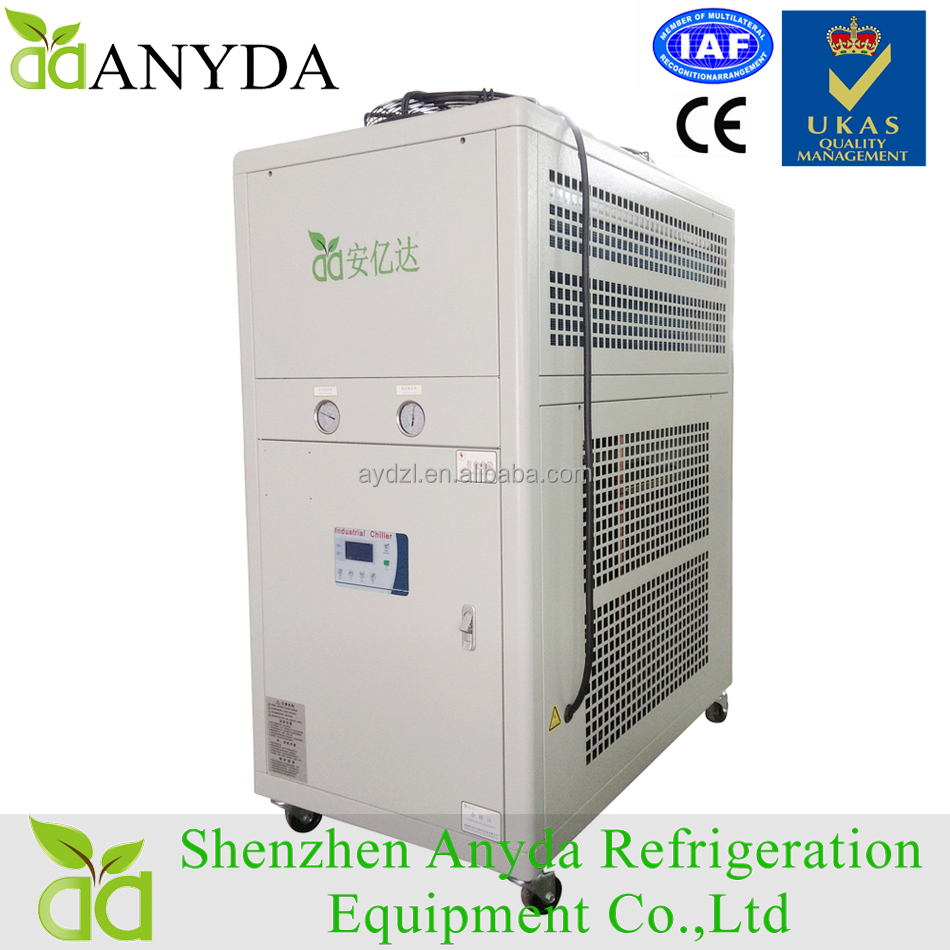 50 Kw 15 Hp Industrial Air Cooling Water Chiller