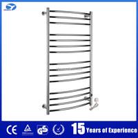 9002 Polish ladder style stainless steel heated bathroom towel holder
