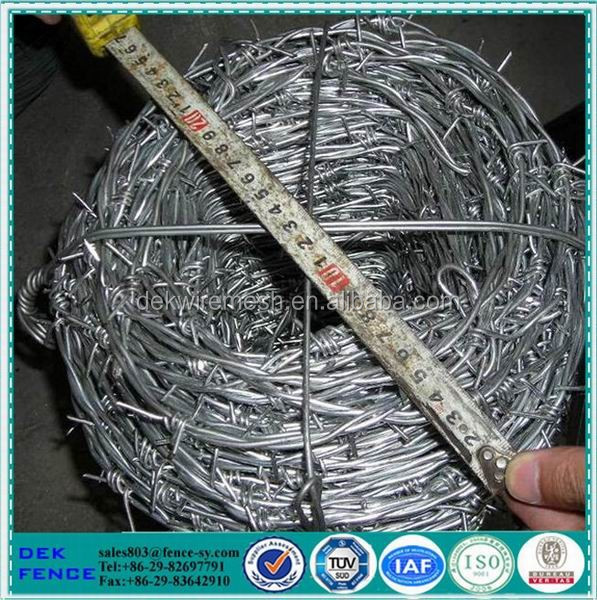 PVC Barbed Wire,Colored Barbed Wire,Green PVC Coat Barbed Wire