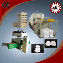 The multi layers pe compound PS food container making machine