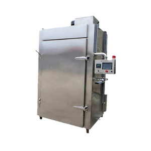 Grilled chicken bacon drying smoking machine/Dried tofu baking machine/Cooking stove meat smoke chamber