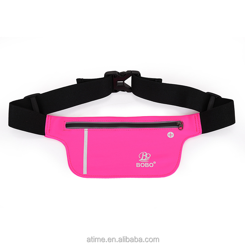 Hot selling anti theft fitness sport fanny bag waist purse pack
