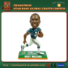 American football Australia rugby school sport bobble head