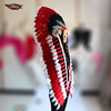 Fukang Wholesale 2017 Newest Design Fashion Indian Feather Headdress For Sale