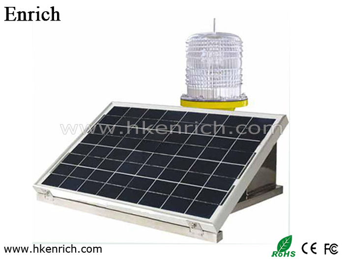 Medium-intensity Type A Solar Powered Aviation Obstruction Light