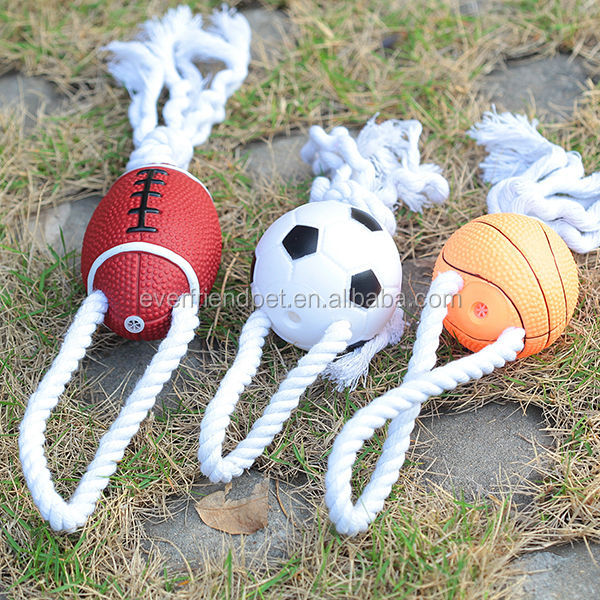 Low cheap and High quality cotton rope ball dog toys
