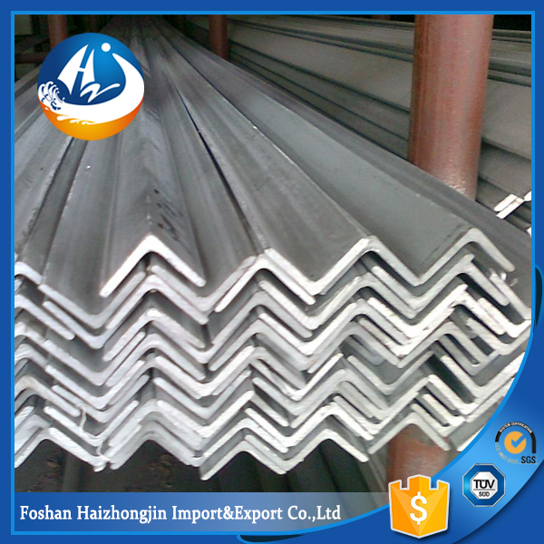 202 grade stainless steel tensile strength of steel angle bar
