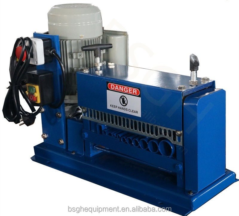 popular production scrap copper wire recycling machine for stripping scrap copper electric wires wire cutter and stripper machin