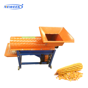NEWEEK farm use 2 t electric hulling maize threshing corn shelling machine