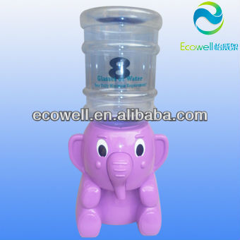 Mini elephant water dispenser