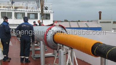 urethane pipe sleeve for submarine cable
