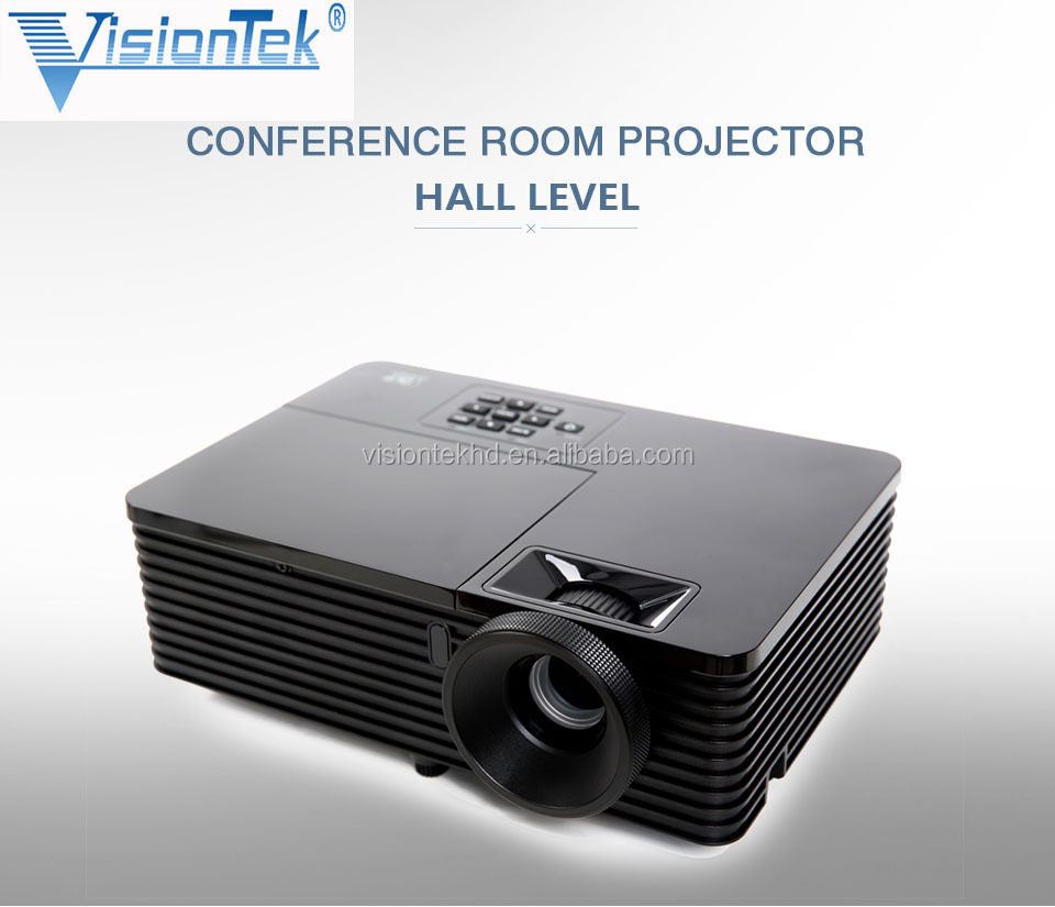 Daytime use DLP projector True 3000 ANSI lumens Data Show Projector 3D Proyector For Home Use Home Theater Shool Meeting
