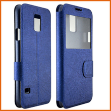 Factory PU leather flip phone case for Blackberry Q10 case