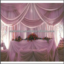 Drapery curtains and drapes for stage