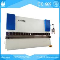 WC67K 1000T/6000 hydraulic brake press 5mm sheet metal bending machine in stock