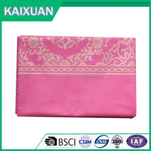 pp non woven table cloth with printing