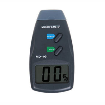 4-pin Digital Wood Moisture Meter, Damp Detector Tester
