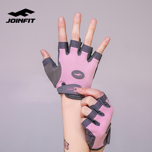 JOINFIT Wholesale Custom Leather Workout Fitness Weight Lifting Gym Gloves
