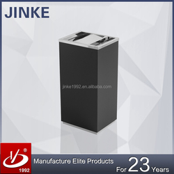 Hot Sale Metal Garbage Container, Square Colorful Rubbish Bin With Movable Bin Inside