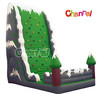 Inflatable Green Tree Rock Climbing Wall Sports Game