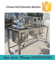 Multi-functional extraction tank/mini Chinese herb extraction machine with good price