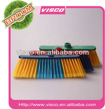 2016 Low Price Wooden Handle Plastic Brooms PC31015