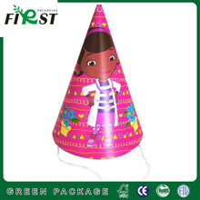 Child happy birthday decoration customize party paper hat