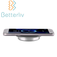 Multifunctional cell phone best qi standard wireless charging pad for iphone 8 for office