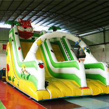 Tiger inflatable slide commercial on sale