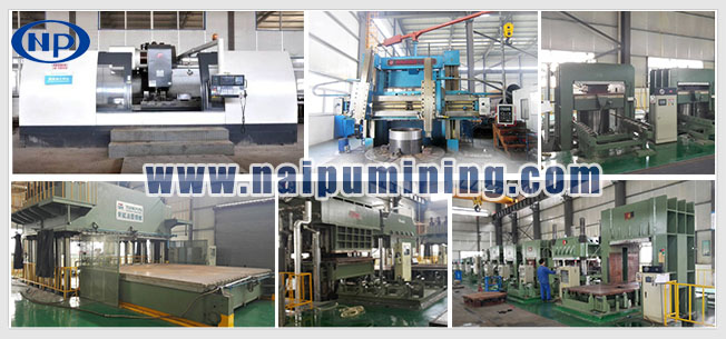 Naipu brand high quality mine rubber  trommel  screen with wear-resistant panel
